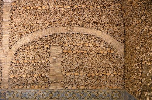 Bones Chapel Church Of San Francisco Evora 16th Cent 3