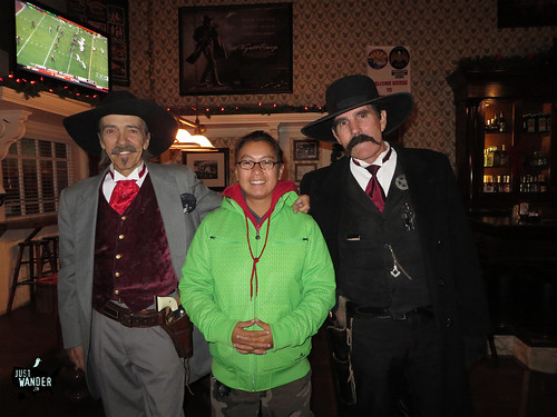 Tombstone: Actors at Crystal Saloon Palace
