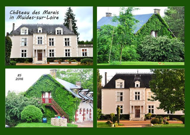"""Reiseblog - Unbekannte Schlösser und Schlösschen der Loire: Château des Marais (das """"Sumpfschlösschen"""") in Muides-sur Loire / Fotos: Brigitte Stolle 2016"""