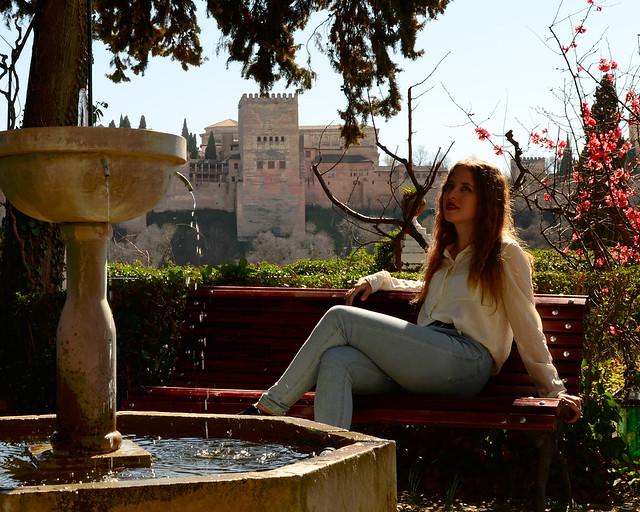 Patio del Carmen Victoria de Granada, de los lugares más bonitos que ver de Granada