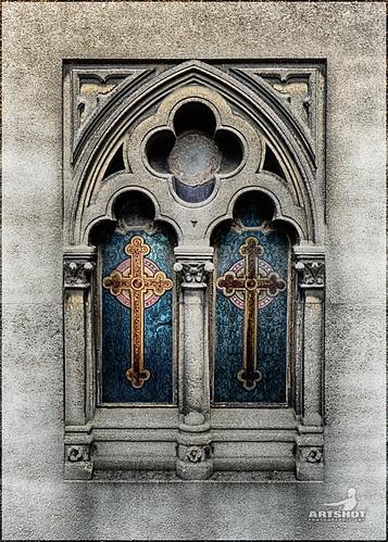 Paris | Church Window