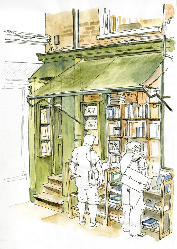 Minster Gates Book Shop colour | Flickr - Photo Sharing!