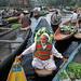 Dal Lake Floating Market - Srinagar, India