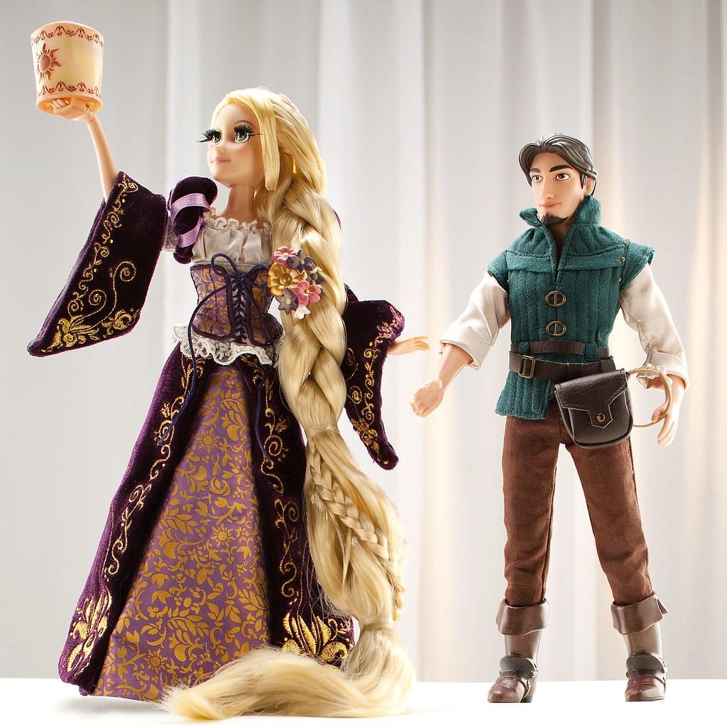 rapunzel and flynn limited edition dolls uk disney store flickr. Black Bedroom Furniture Sets. Home Design Ideas