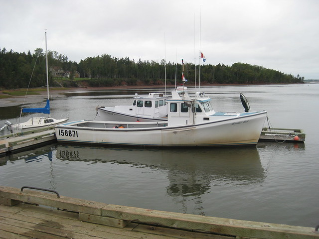 Nova scotia lobster fishing boats flickr photo sharing for Nova scotia fishing