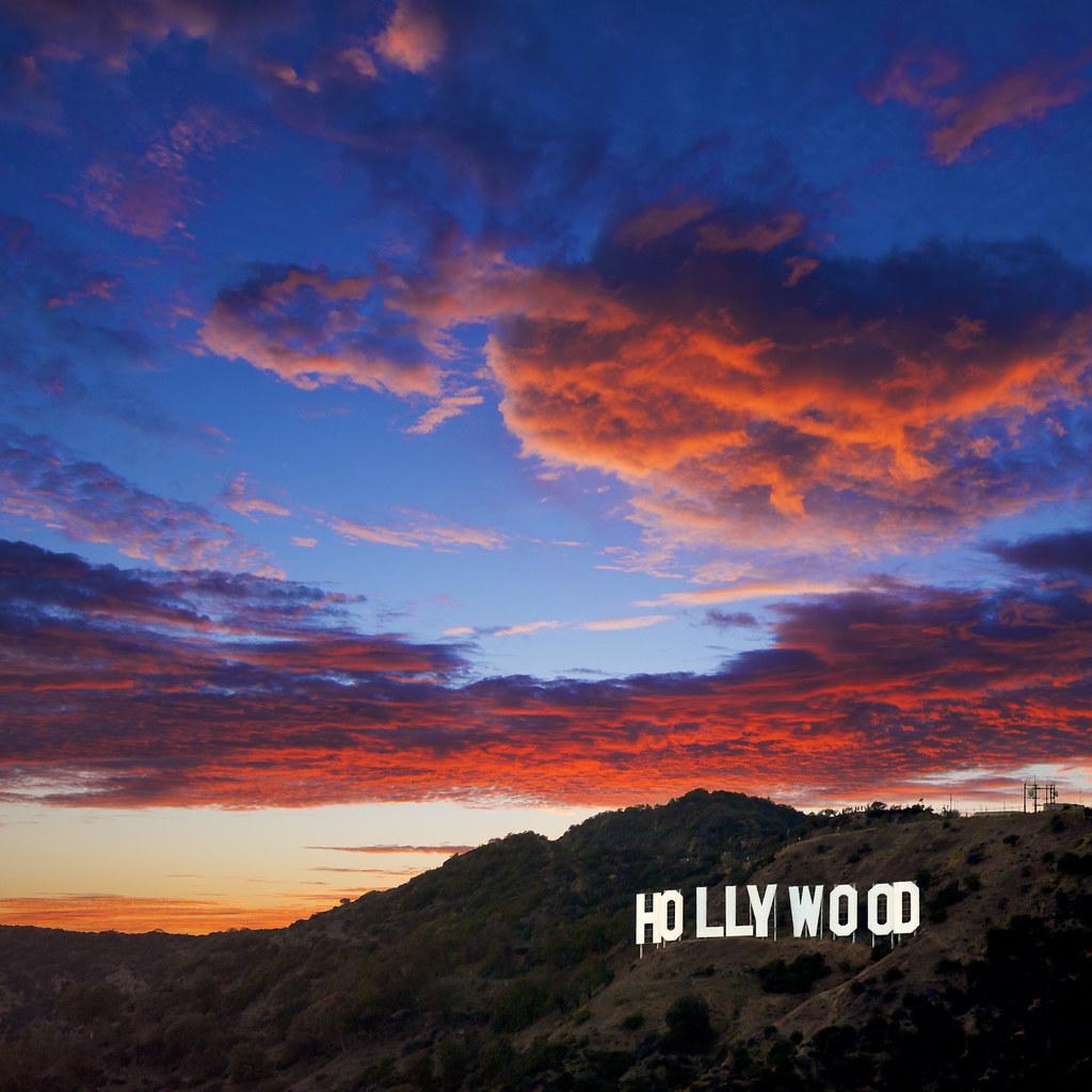 Hollywood Sunset | Michael de la Paz | Flickr  Hollywood Sunse...