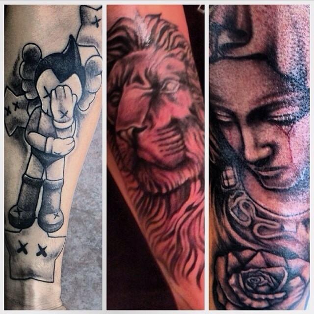 Art Tattoos Madeby Alexbayacal Workmode Vacation Hol Flickr