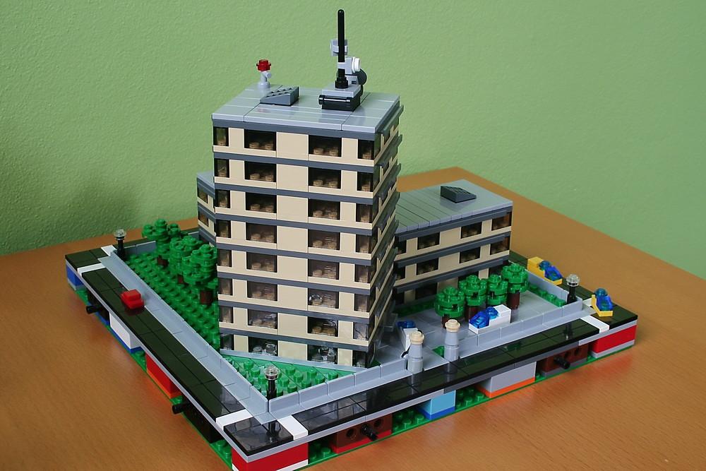 Как построить лего город своими руками 43