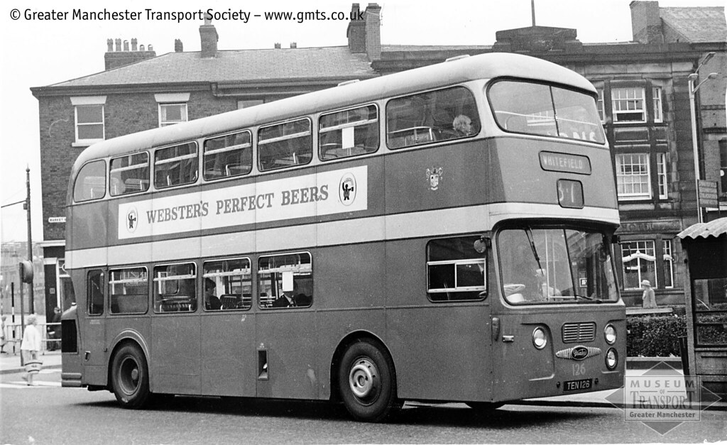 Bury Corporation Transport 126 Bury S Smart Green And