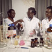 Professor Amivi Kafui Tete-Benissan teaches cell biology and biochemistry