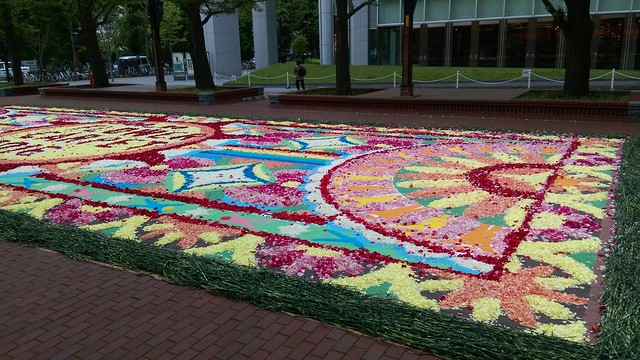 SAPPRO  Flower Carpet 2016サッポロ フラワーカーペット2016_03