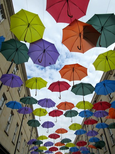 Umbrellas in Bath