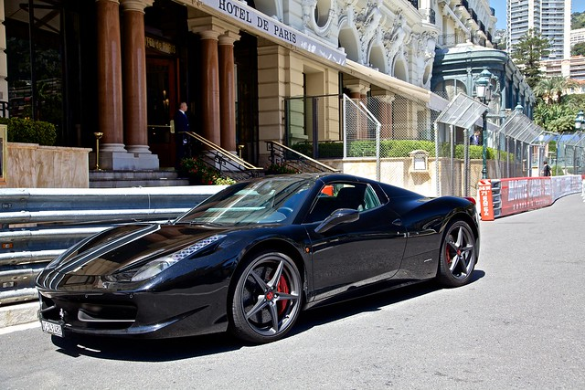 Black Ferrari 458 Spider | Flickr - Photo Sharing!