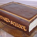 Sculpted Leather-bound Book Cake