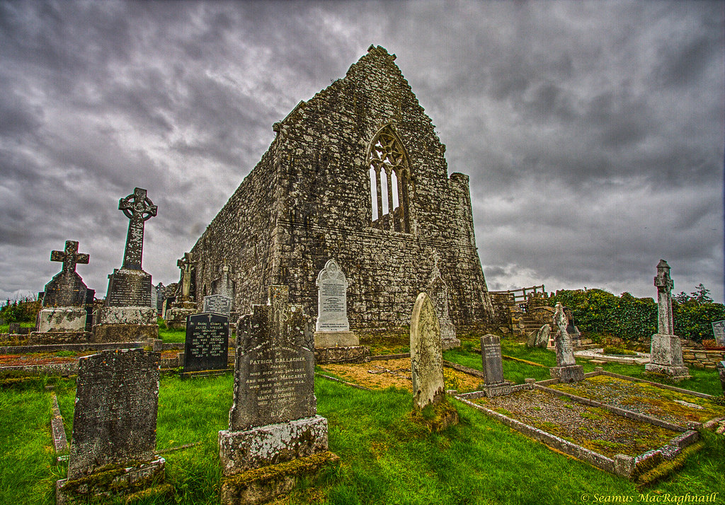 Fenagh Abbey, County Leitrim, Ireland2 | The back side of ...