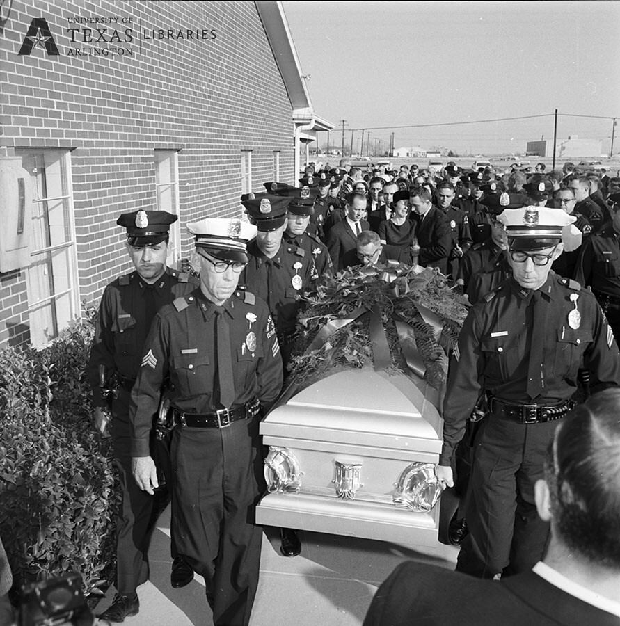 J D Tippit Funeral Jfk Assassination 1963 Source