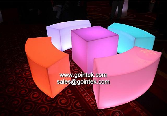 Kleur veranderen gloeiende led bank voor bar zitplaatsen flickr - Verf kleur keuzes voor zitplaatsen ...