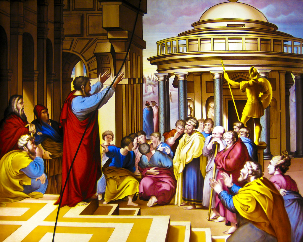 pauls teaching Paul the apostle commonly known as saint paul and also known by his jewish  name saul of  paul's teaching about the end of the world is expressed most  clearly in his letters to the christians at thessalonica he assures them that the  dead.