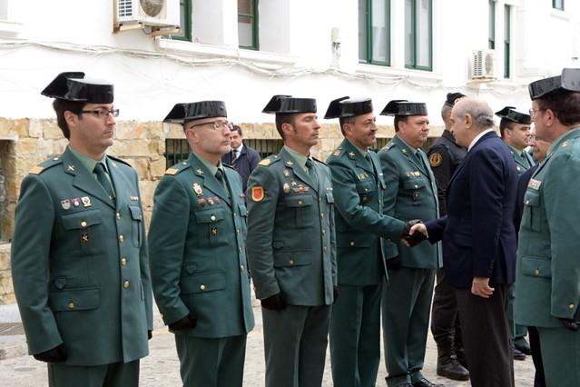 El ministro del interior se re ne con los mandos de la for Ministerio del interior guardia civil