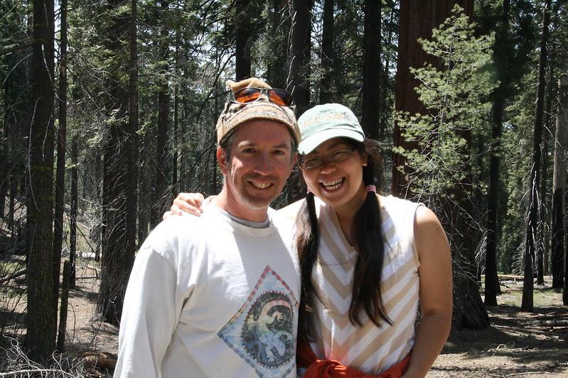 七世代的創辦人Mike與達娃。圖片來源:七世代自然生活學校。
