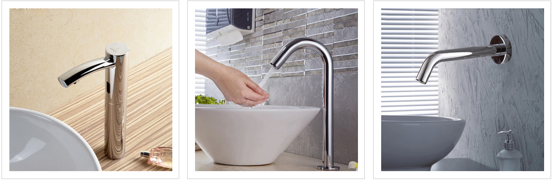 touchless modern faucet