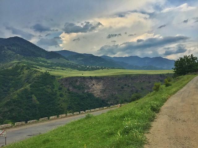 Carretera en Armenia