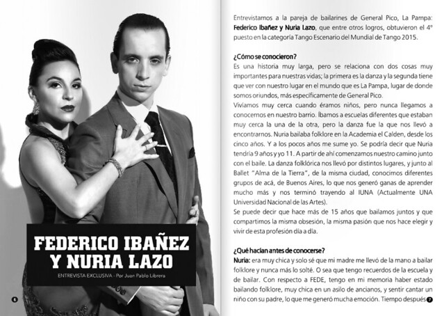 Revista Punto Tango 117 Julio 2016 - Tango Magazine 4