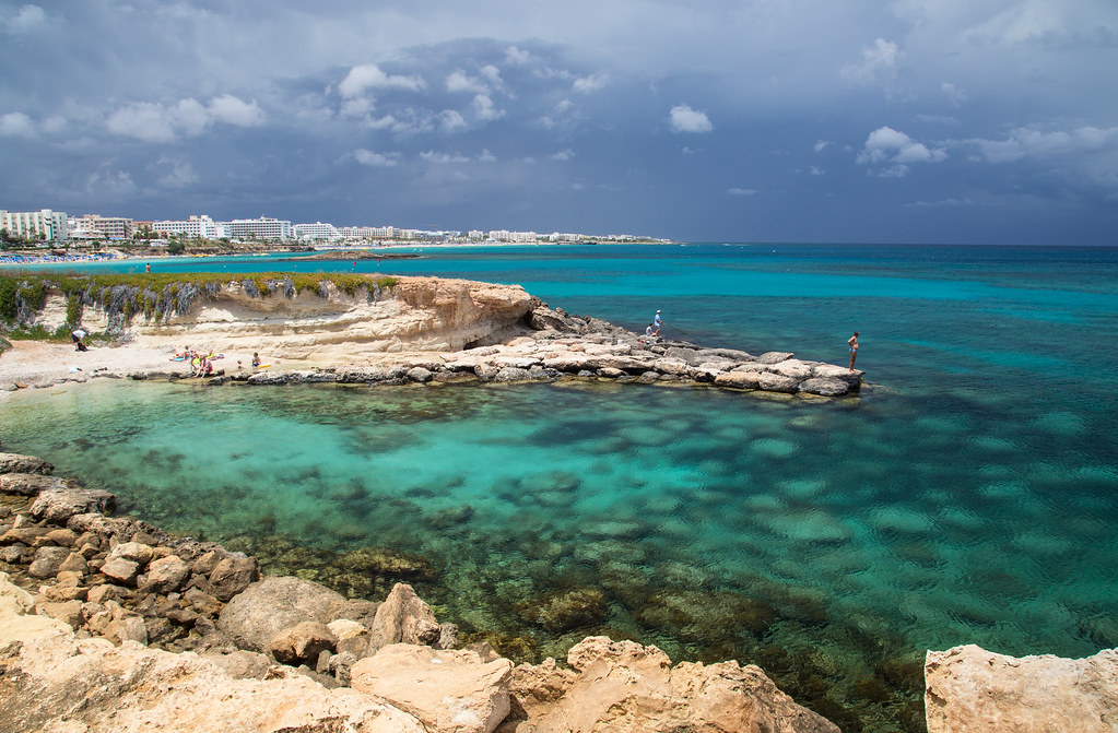 Blue Island Limassol Map