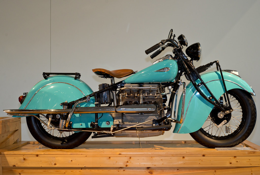 Barber Motorsports Museum 2013 Turquoise Indian Classic M