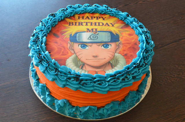 Naruto Birthday Cake Cake Ideas And Designs