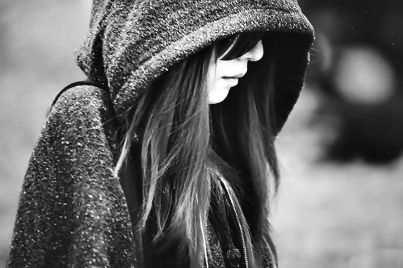 Sad-Girl-Alone-Cute-Lovely-Adorable  Kou Art  Flickr-4838
