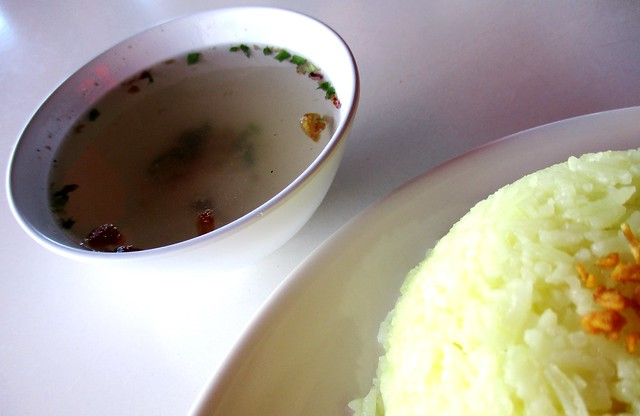 Warung BM complimentary soup