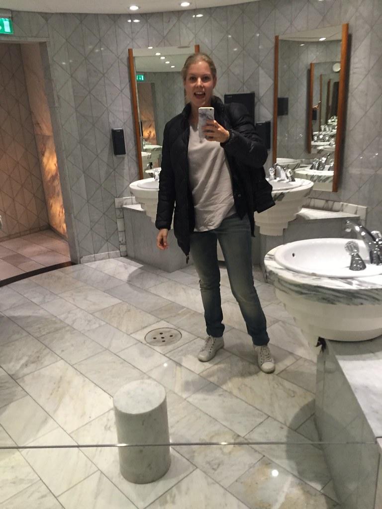 Selfietime på Hilton Slussen