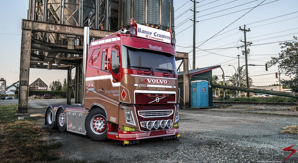 Volvo Fh Ronny Ceusters Www Facebook Com E Sirburenders