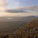 Coigach hills at sunset