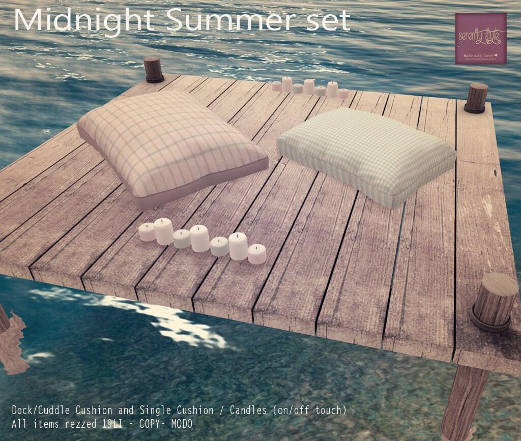 Serenity Style- Midnight Summer Set