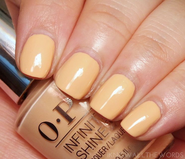opi can't stop myself infinite shine summer 2016