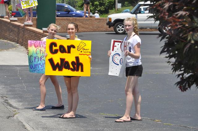 FCHS Rebels Cheerleaders 2013 Car Wash | Flickr - Photo ...