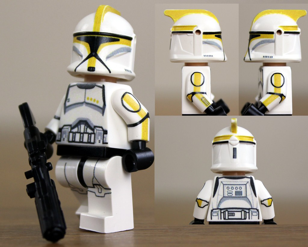 Custom Decal Maker >> Custom LEGO Phase 1 Clone Commander(Episode 2) | This is my … | Flickr