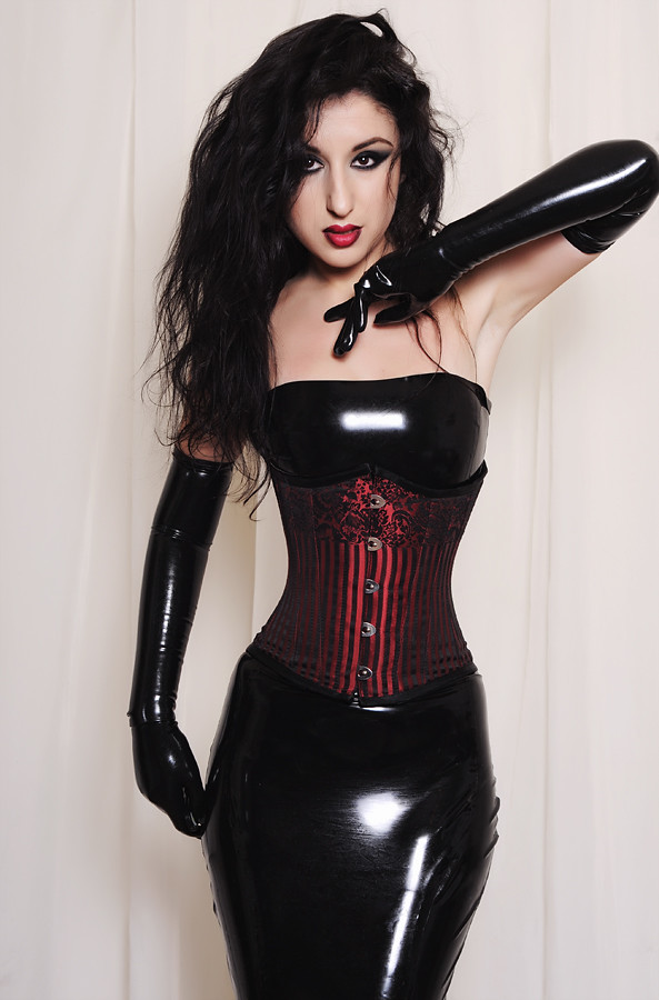 Marilyn yusuf in hot latex Part 5 5