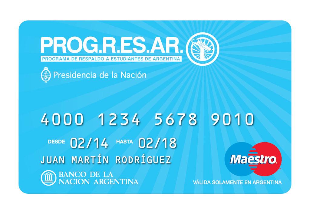 Tarjeta PROGRESAR   Administración Nacional de la ...