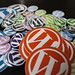 WordPress buttons and Stickers