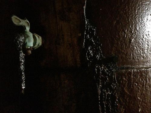 spigot in main mast
