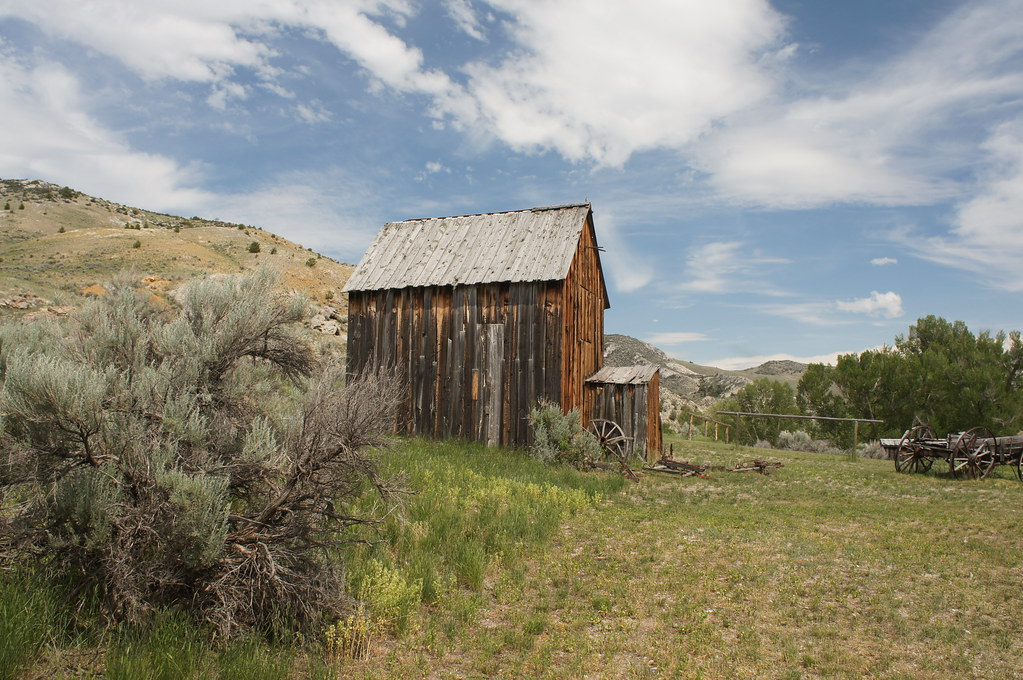 Bannack State Park Bannack Is A Ghost Town In Beaverhead C Flickr
