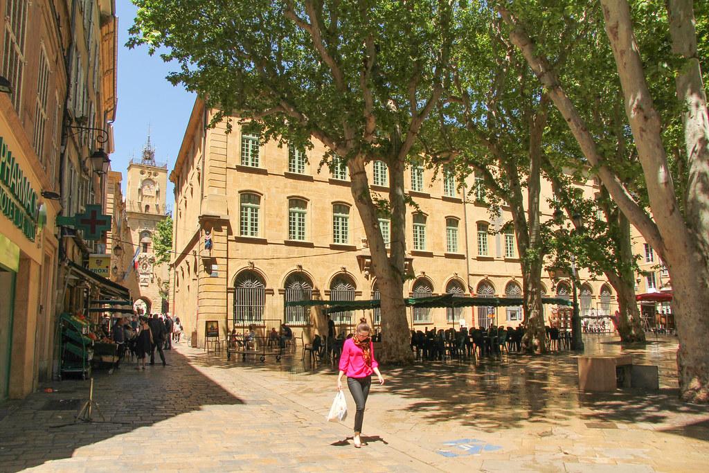 Place Richelme  AixenProvence (France)  Place Richelme 0