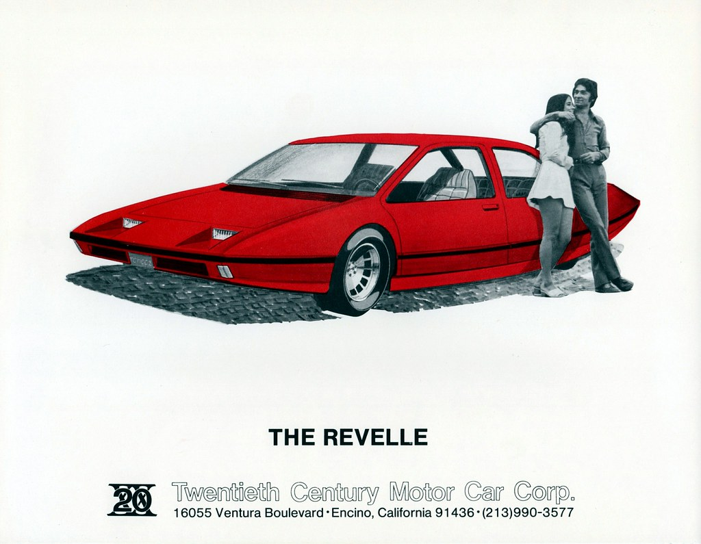 1975 Revelle By Twentieth Century Motor Car Corp This