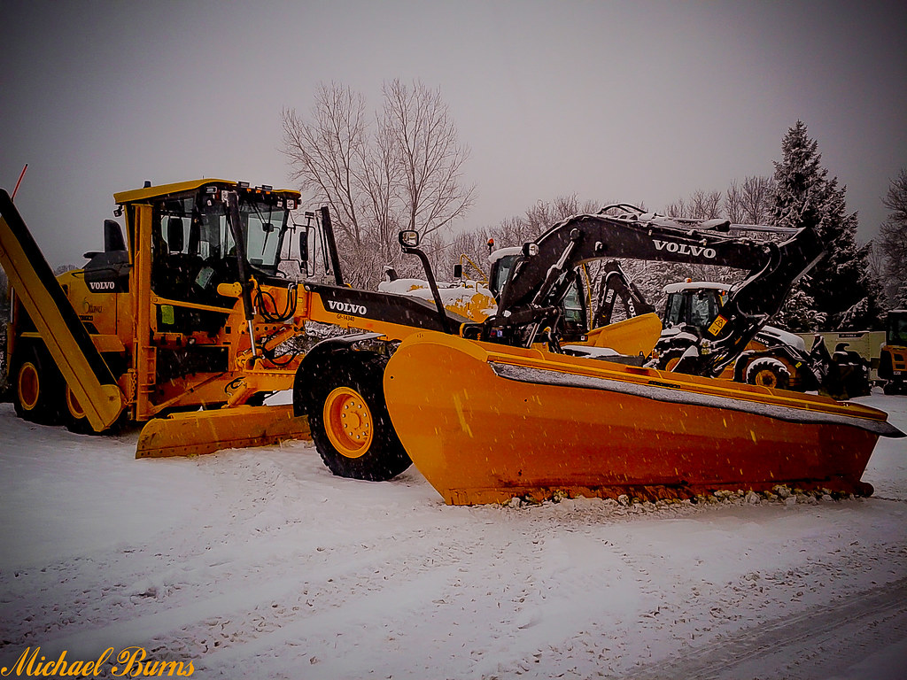 city of ottawa volvo g946c snow plow grader