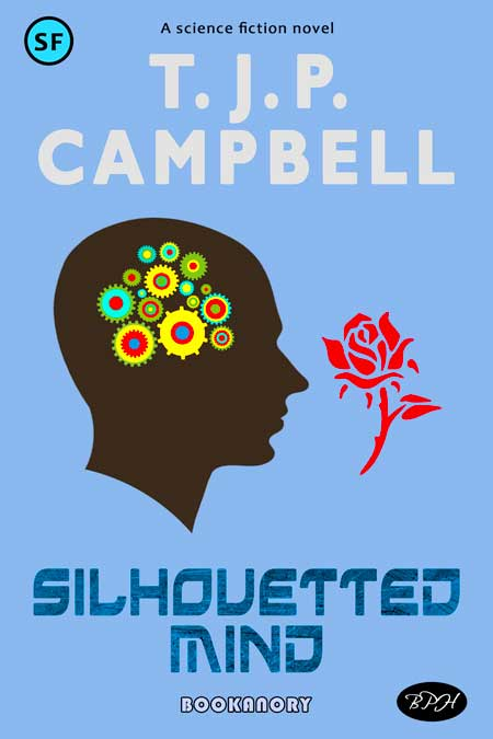Coloured silhouetted themed bookanory book cover