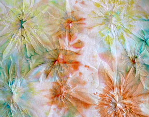 Tie dyed tissue paper no dye i have always used extra dy flickr - Tie and dye tissu ...