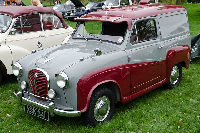 austin a35 van 1960 vale royal classic car show at. Black Bedroom Furniture Sets. Home Design Ideas